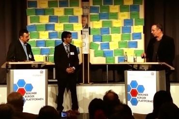 """Eine Fotoreportage von der Veranstaltung """"Was Wähler wirklich wissen wollen"""" am 8. September 2011 im Hotel Estrell in Berlin"""