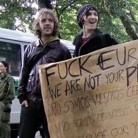 Protest vor spanischer Botschaft