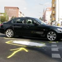 Rollerfahrer bei Unfall in der Prinzenallee lebensgefährlich verletzt