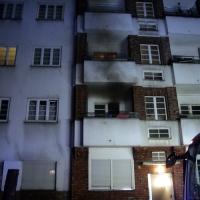 Wohnungsbrand in der Zechliner Straße in Wedding