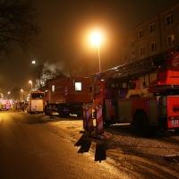 """Feuer zerstörte Nachbarschafts - """"Musikcafé Pankow"""" in Niederschönhausen Blankenburger Straße"""