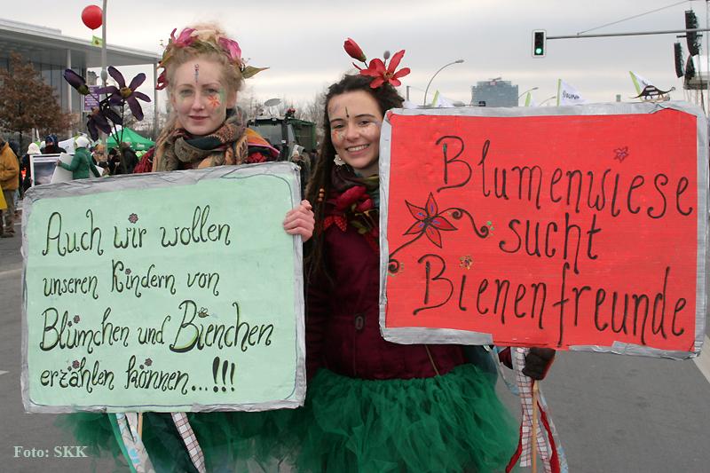 Wir haben es satt Demo Berlin