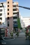 Brand in der Koloniestraße in wedding (1)