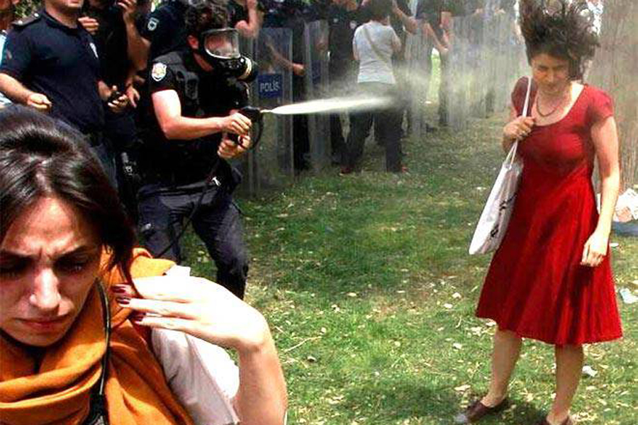 Sokidarität mit Istanbul Potestveranstaltungen