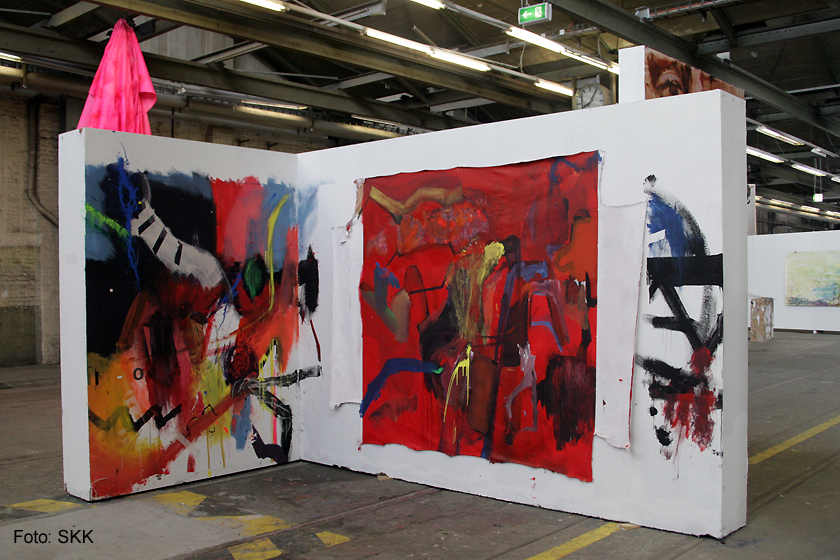 Nachschlag - KunststudentInnen der UdK und der Kunsthochschule Weißensee Pankehallen21