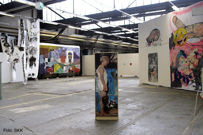 Nachschlag - KunststudentInnen der UdK und der Kunsthochschule Weißensee Pankehallen29