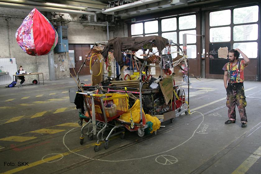 Nachschlag - KunststudentInnen der UdK und der Kunsthochschule Weißensee Pankehallen12