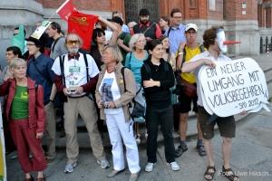 Uwe Hiksch energietisch protest rotes rathaus berlin