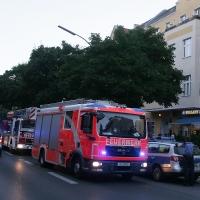 Zweimal kurz hintereinander Feueralarm in der Wollankstraße