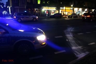 unfall Rollerfahrer prinzenallee bellermannstrasse (2)