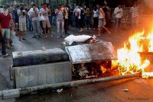 Demo Tod Ahmet Atakan in Antakya