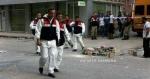 Der Ort an dem Ahmet Atakan getötet wurde am nächsten Tag