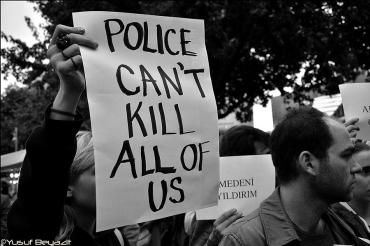 Fotograf Yusuf Beyazit zum Tod von Ahmet Atakan Protest in Berlin (3)