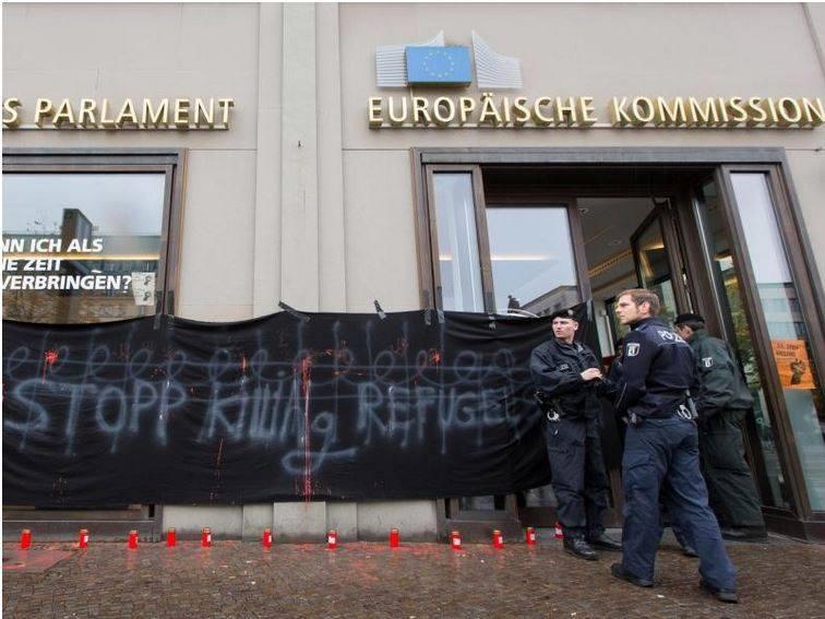 Besetzung haus europäische kommission berlin