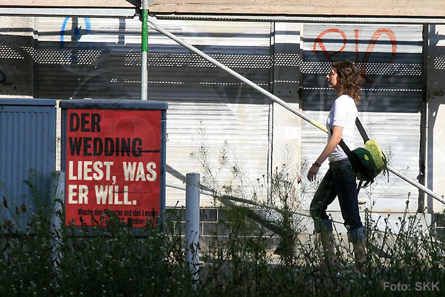 der Wedding liest was er will - Sprach- und Lesewoche von der Bügerstiftung