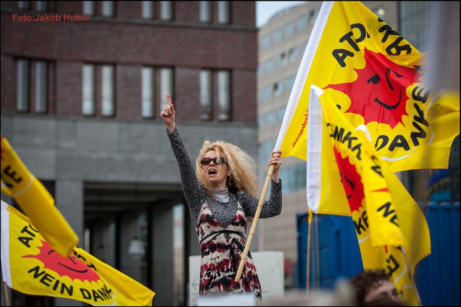 Energiewende Demo in Berlin Foto:Jakob Huber