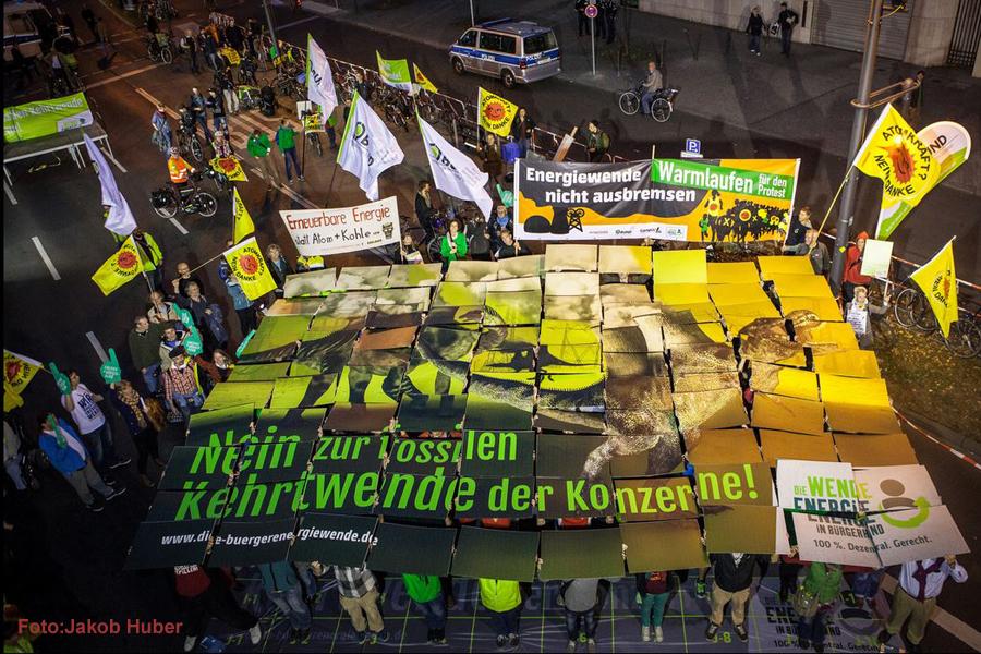 Demo Energiewende in Berlin Foto:Jakob Huber  2