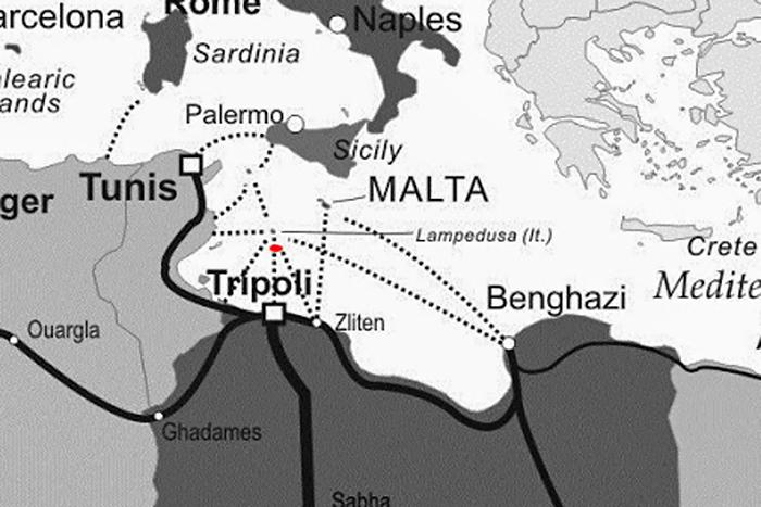 erneut Refugee Schiffunsglück vor Lampedusa