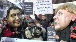 NSA Protest vor dem willy brandt haus berlin (11)