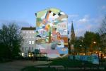 Soldiner Kiez Fassadenmalerei prinzenallee60