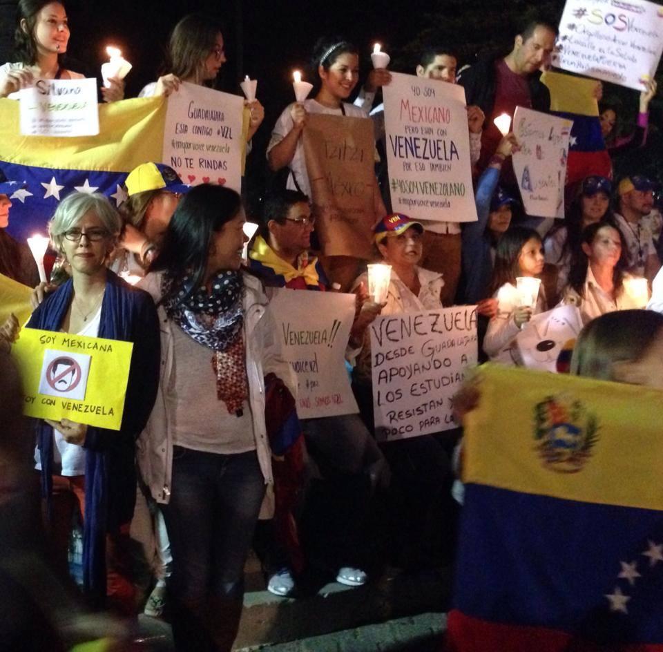 SOS Venezuela Solidarische Grüße aus Mexico