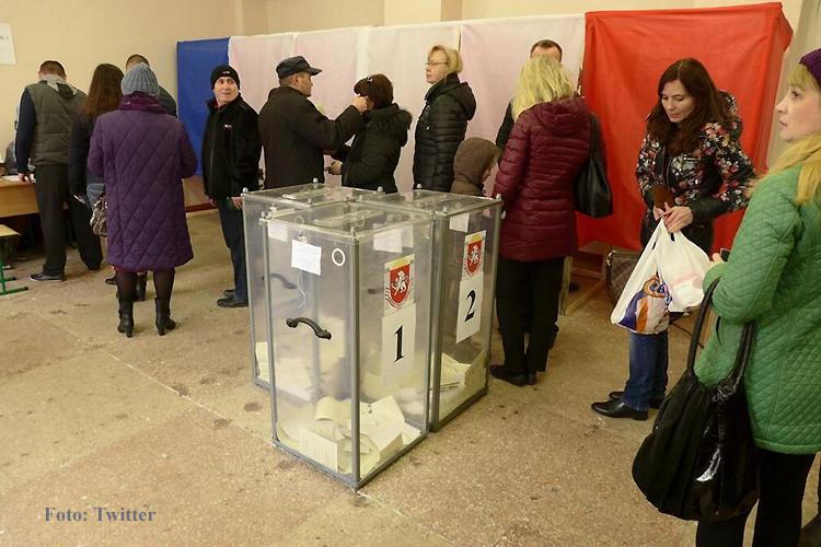 Abstimmung Wahl Krim Ukraine russland titel