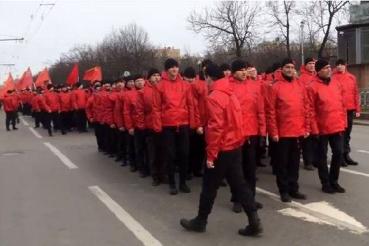 Kommunisten in Moskau Frieden Ukraine
