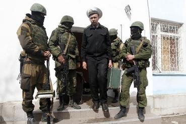 Marinesützpunkt Krim geräumt