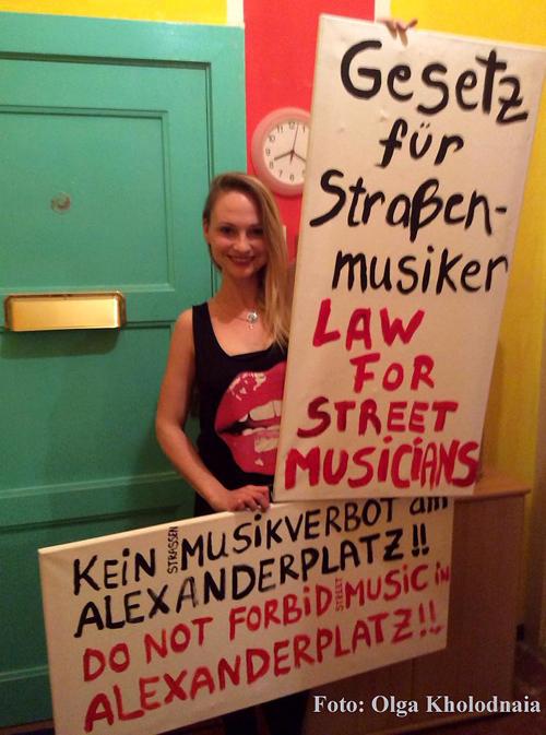 Olga Kholodnaia protestiert titel