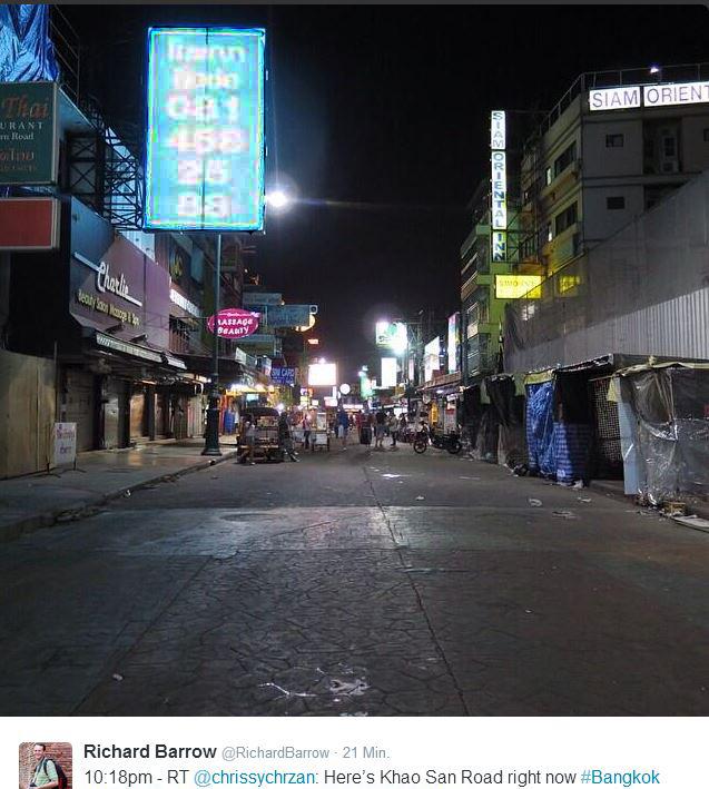 'Bangkok #Thailand #thaicoup