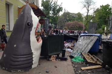 Odessa strassenschlacht Haidekoration titel