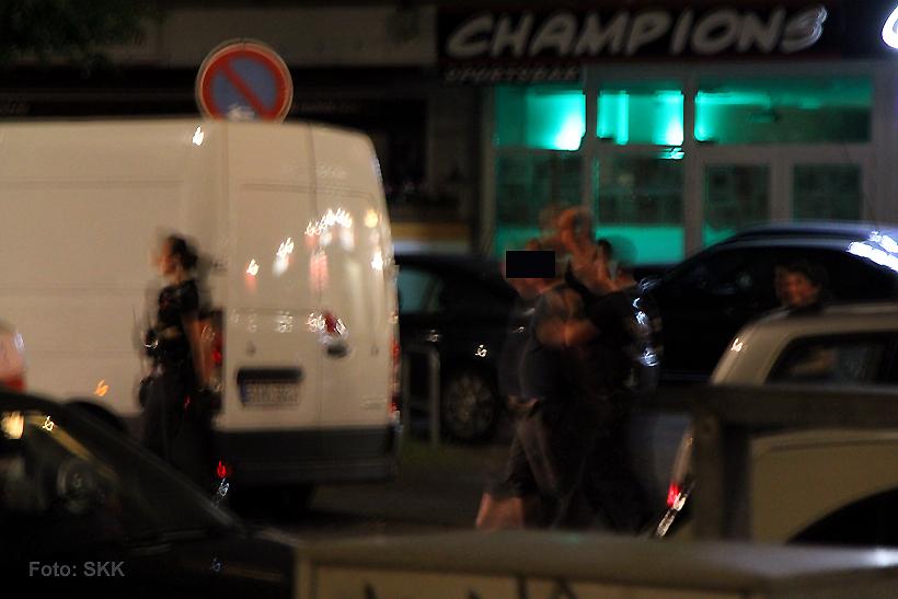 Randalierer Wollankstraße festgenommen