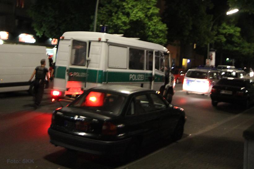 Autopinkler in der Wollankstraße festgenommen