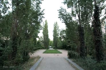 grünstreifen grüntaler strasse public viewing wm soldiner kiez2014