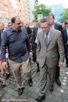Selcuk Saydam Haci-Bayram-Moschee Besuch von Innenminister Thomas de Maiziere (2)