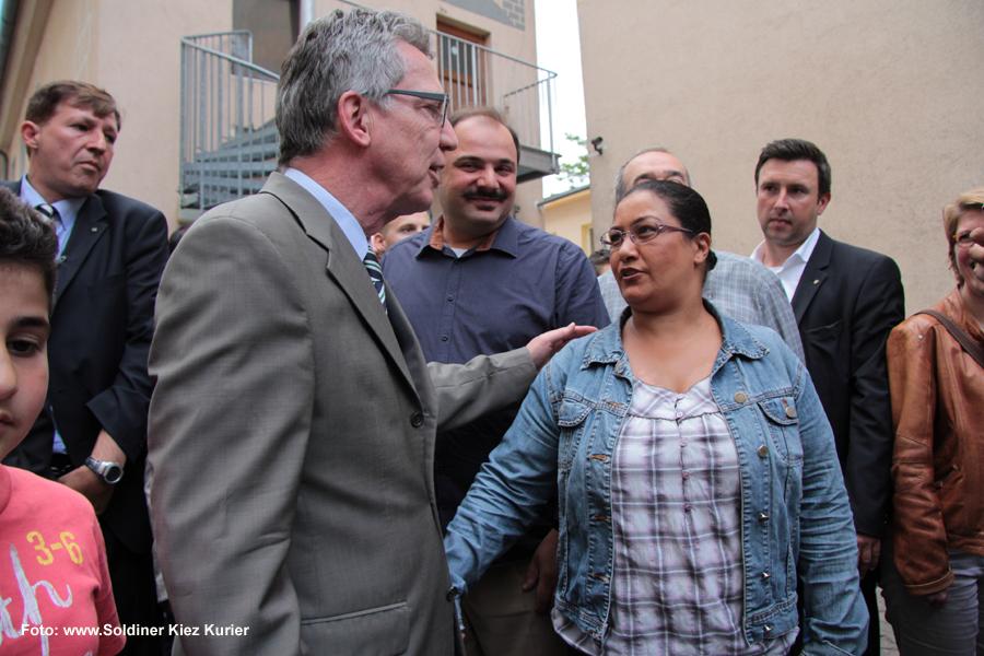 Haci-Bayram-Moschee Besuch Innenminister Thomas de Maizière (4)