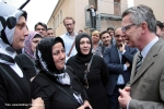Haci-Bayram-Moschee Besuch Innenminister Thomas de Maizière im Soldiner Kiez Berlin Wedding(5)