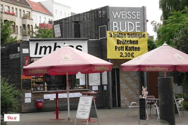 imbiss weisse Bude