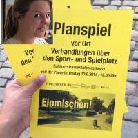 HINGUCKER 2014 - EINMISCHEN! Spielplatz in der Koloniestraße umgestalten