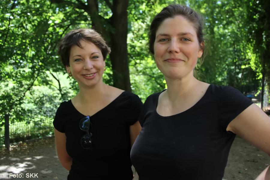 nadia und charlotte public viewing soldiner kiez titel