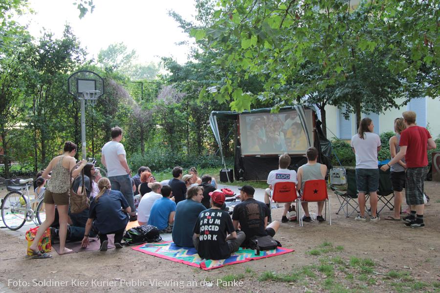 Fußball WM Public Viewing im Soldiner Kiez und beliebte Orte zum schauen