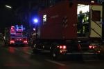 Kellerbrand Wollankstraße Atemschutz für die Rettungskräfte