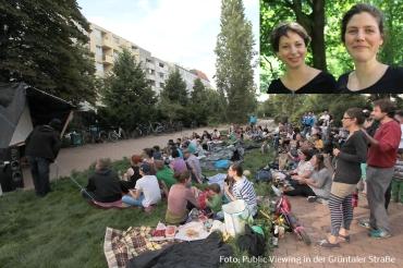 public viewing mit charlotte und nadia