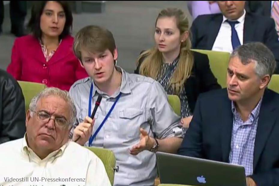 un pressekonferenz Ukraine