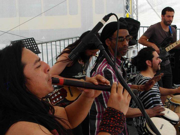 Band Kumbiandina #PankeParcours #Kulturfestival-#weddingmoabit Projekt #Kiezklang