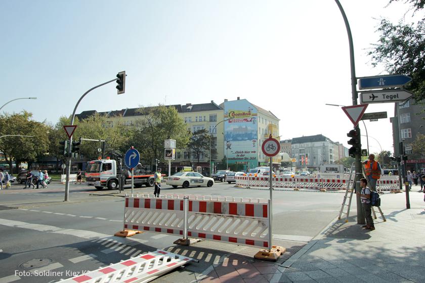 Kreuzung osloer straße ecke Prinzenallee Umbau (9)
