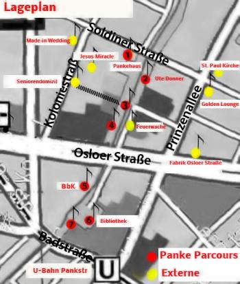 panke parcours lageplan #PankeParcours #Kulturfestival-#weddingmoabit Projekt #Kiezklang