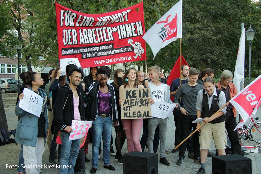 refugee schulstreik leopoldplatz kundgebung (1)