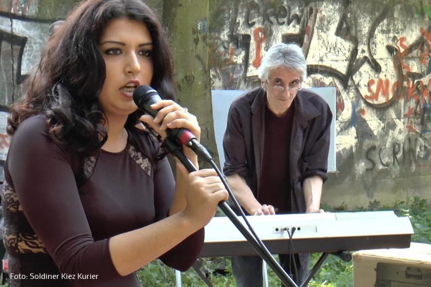 Sängerin und Songwriterin Sumeja #PankeParcours #Kulturfestival-#weddingmoabit Projekt #Kiezklang
