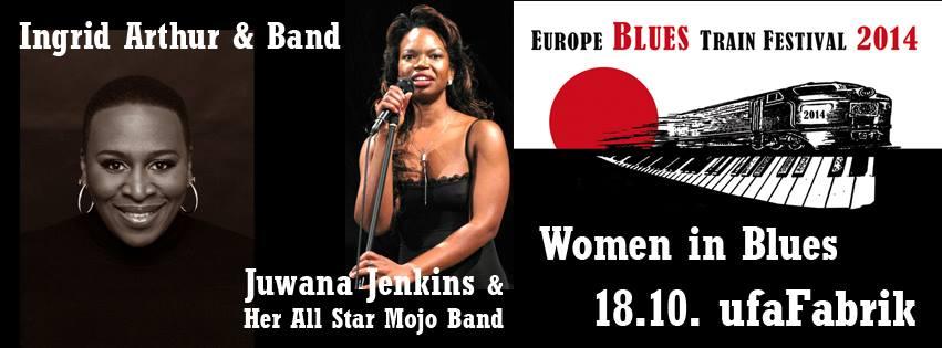 Europe Blues Train Festival 2014 @ ufaFabrik